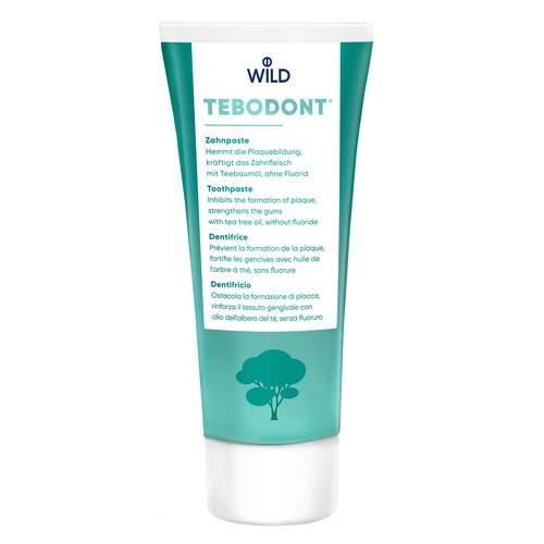 ЗУБНА ПАСТА Tebodont без фториду 75мл - фото 1 | Сеть аптек Viridis