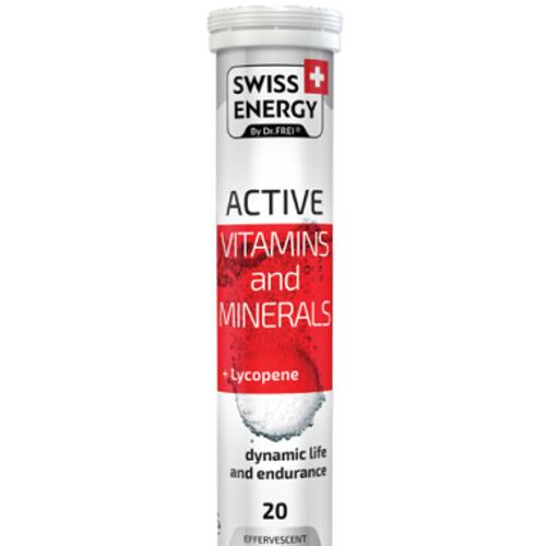 ВИТАМИНЫ SWISS ENERGY BY DR.FREI ACTIVE ТАБЛ.ШИП.№20 - фото 1 | Сеть аптек Viridis