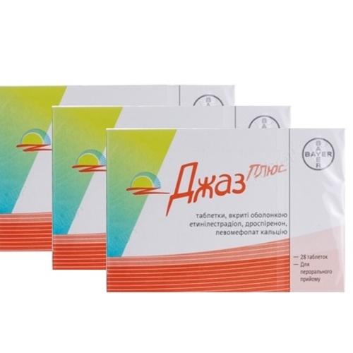 ДЖАЗ ПЛЮС ТАБ. №28 (3 упаковки АКЦИЯ) - фото 1 | Сеть аптек Viridis