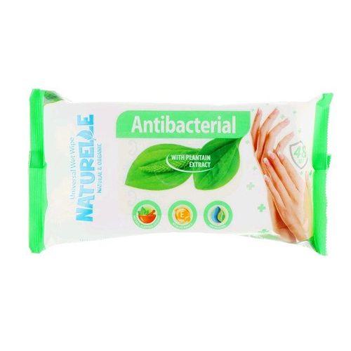 САНВИТА Салфетки влажные антибактериальные Naturelle Подорожник 48шт - фото 1 | Сеть аптек Viridis