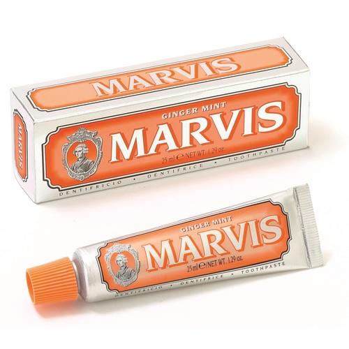 МАРВИС Зубная паста имбирь мята 25мл - фото 1 | Сеть аптек Viridis