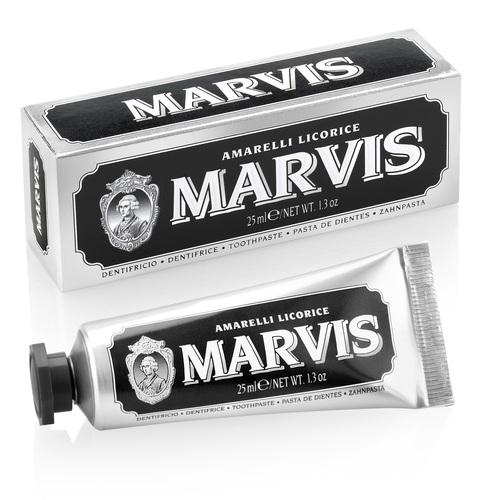 МАРВИС Зубная паста лакрица мята 25мл - фото 1 | Сеть аптек Viridis