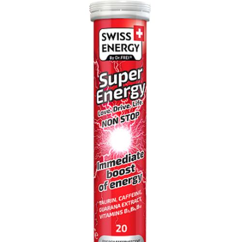 ВИТАМИНЫ SWISS ENERGY BY DR.FREI SUPER ENERGY ТАБЛ.ШИП.№20 - фото 1   Сеть аптек Viridis