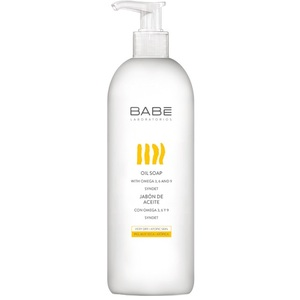 БАБЕ Мыло на основе масел для сухой и атопической кожи 500мл