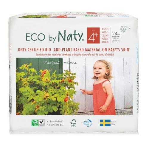 НАТІ Підгузки дитячі органічні 4+ (9-20 кг) 24шт - фото 1 | Сеть аптек Viridis