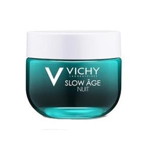 ВИШИ Слоу Эйдж Крем-маска ночная для лица освежающая для коррекции признаков старения кожи 50мл