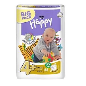 БЕЛЛА Підгузки д/діт. Baby Happy Maxi Plus 9-20кг №62