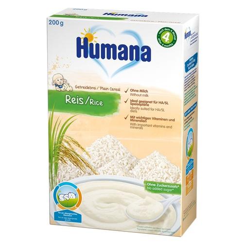 ХУМАНА Organic Каша безмолочная рисовая с 6 мес. 200г - фото 1 | Сеть аптек Viridis