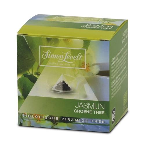 Симон Ливелт Чай зелений  Жасмін органичний 15 г.у фільтр-пак.(10*1,5 г.)