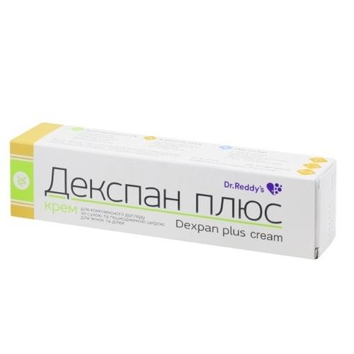ДЕКСПАН ПЛЮС КРЕМ 30Г - фото 1   Сеть аптек Viridis