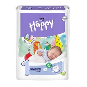 БЕЛЛА Підгузники д/діт. Baby Happy New Born 2-5 кг №42