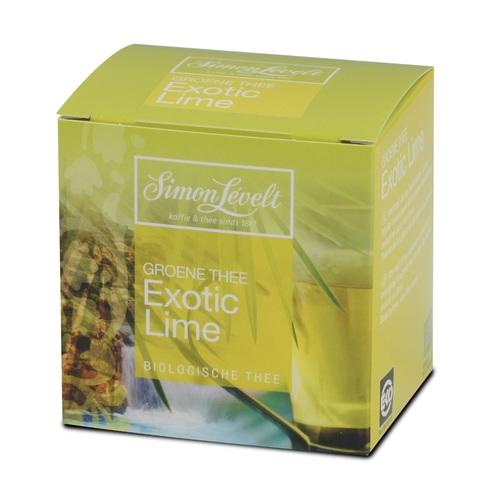 Симон Ливелт Чай Зелений Екзотичний Лайм органічний 17,5 г.(10*1,75 г.) - фото 1 | Сеть аптек Viridis