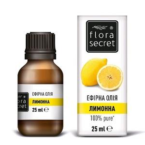 ФЛОРА СИКРЕТ Лимонное масло 25мл