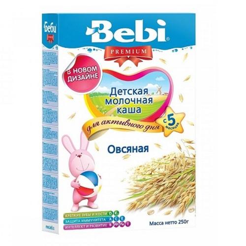 КОЛІНСКА БЕБІ Каша молочна вівсяна - фото 1 | Сеть аптек Viridis