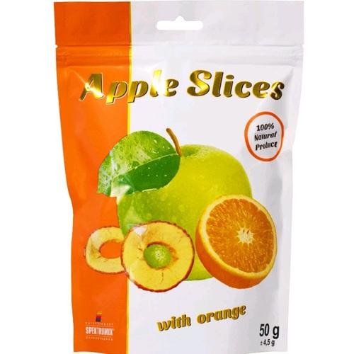 СПЕКТРУМІКС Слайси яблучні з апельсином 50г - фото 1 | Сеть аптек Viridis