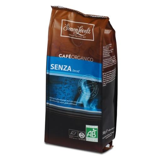 Симон Ливелт Кава смажена мелена Сенза без кофеіну органічна CAFE ORGANICO SENZA 250 G