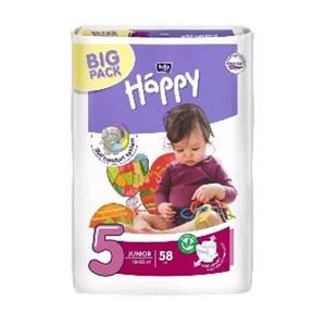 БЕЛЛА Подгузники д/дет. Baby Happy Junior (12-25кг) 58шт