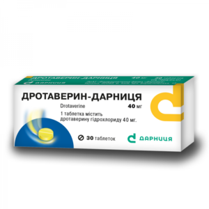 ДРОТАВЕРИН-Д ТАБ. 0,04Г №30