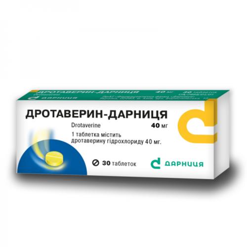 ДРОТАВЕРИН-Д ТАБ. 0,04Г №30 - фото 1   Сеть аптек Viridis