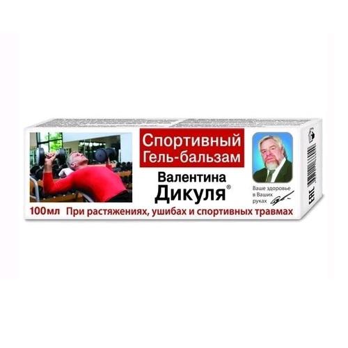 ГЕЛЬ-БАЛЬЗ.В.ДИКУЛЯ СПОРТ100МЛ - фото 1 | Сеть аптек Viridis