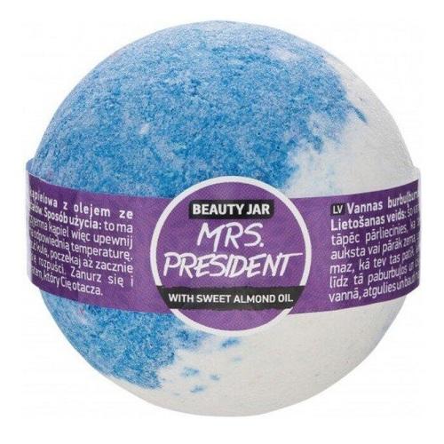 БЬЮТИ ДЖАР Бомбочка для ванны Mrs. President 150гр - фото 1 | Сеть аптек Viridis