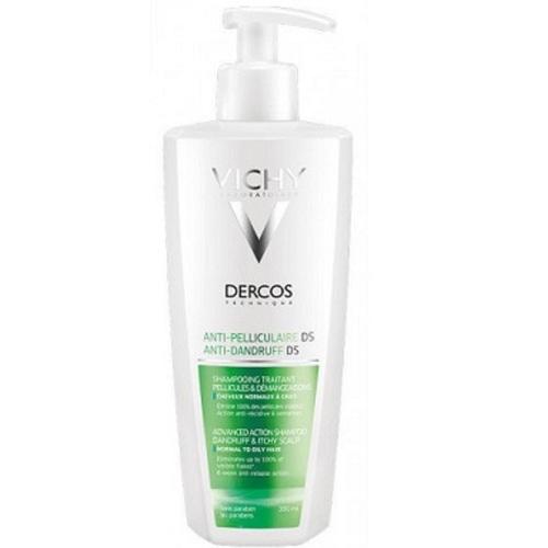 ВИШИ Деркос Шампунь против перхоти усиленного действия для нормальных и жирных волос 390мл - фото 1 | Сеть аптек Viridis