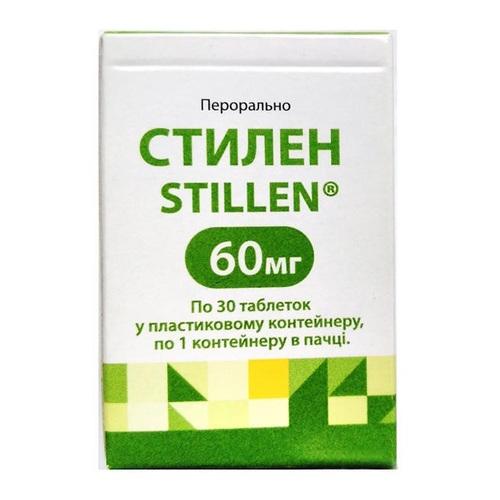 СТИЛЕН ТАБ. 60МГ №30 - фото 1 | Сеть аптек Viridis