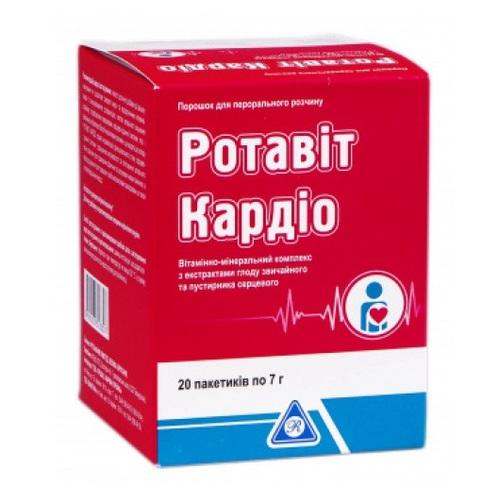 РОТАВІТ КАРДІО ПОР. 7Г №20 - фото 1   Сеть аптек Viridis