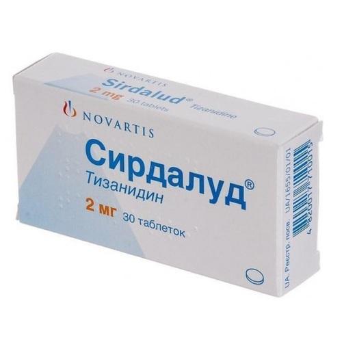 СИРДАЛУД ТАБ. 2МГ №30 ПДВ - фото 1 | Сеть аптек Viridis