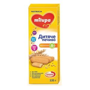 МИЛУПА Печенье детское пшеничное с 6 месяцев 135г