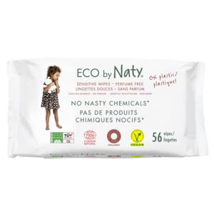 НАТИ Салфетки влажные детские органические без запаха 56 шт