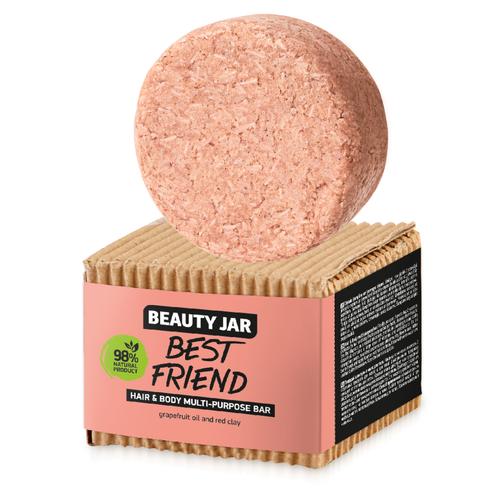 БЬЮТИ ДЖАР Мыло для волос и тела Best Friend 65гр - фото 1 | Сеть аптек Viridis