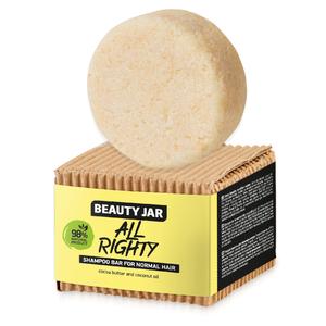 БЬЮТИ ДЖАР Твердый шампунь для нормальных волос All Righty 65гр