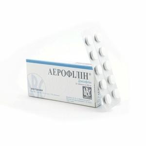 АЕРОФІЛІН ТАБ. 400МГ №20