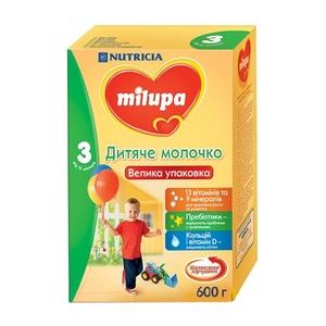 МІЛУПА 3 Молочко дит. від 12міс. 600г
