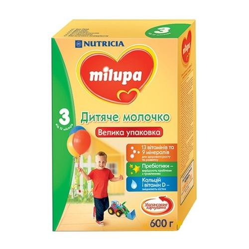 МІЛУПА 3 Молочко дит. від 12міс. 600г - фото 1 | Сеть аптек Viridis