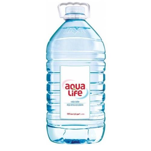 АКВА-ЛАЙФ Мин. вода негаз. 5л - фото 1 | Сеть аптек Viridis