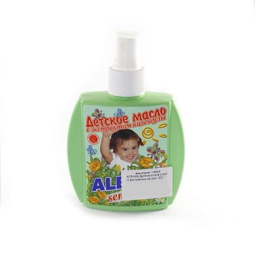 АЛЕНКА Дитяча олійка-спрей (з екстрактом нагідок) 200 г купить в Броварах