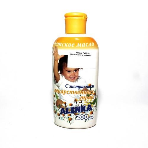 АЛЕНКА Дитяча олійка (з екстрактом лікарських трав) 200 мл купити в Киеве