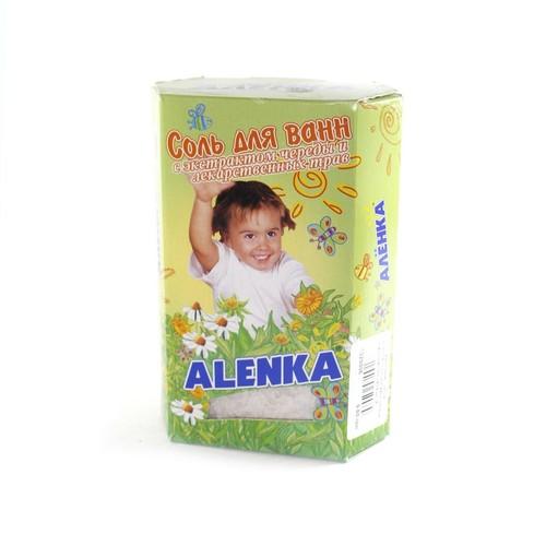 АЛЕНКА Сіль для ванн дитяча (з екстрактом череди та лік.трав) 500 г купить в Броварах