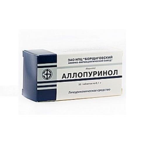 АЛЛОПУРИНОЛ ТАБ. 100МГ №50 купить в Харькове