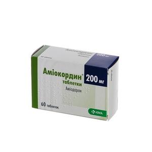 АМИОКОРДИН ТАБ. 200МГ №60