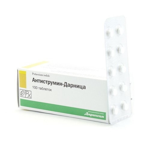 АНТИСТРУМІН-ДАРНИЦЯ ТАБ. 1МГ №100 купити в Славутиче