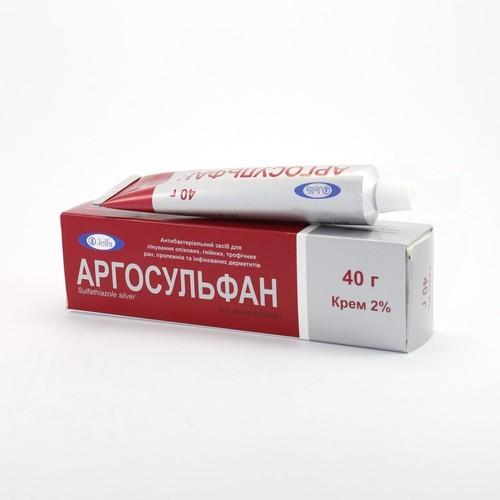 АРГОСУЛЬФАН КРЕМ 2% 40Г купить в Славутиче
