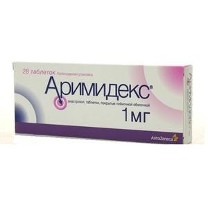АРИМИДЕКС ТАБ. 1МГ №28