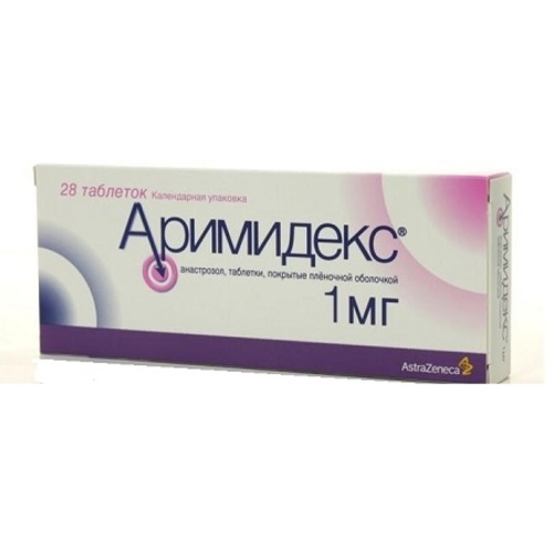 АРИМИДЕКС ТАБ. 1МГ №28 купить в Житомире
