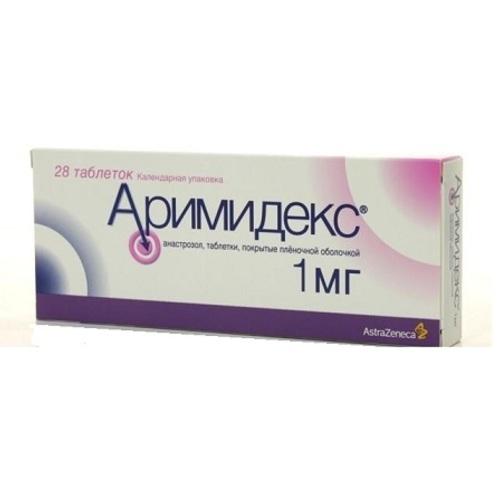 АРИМИДЕКС ТАБ. 1МГ №28 купить в Ирпене