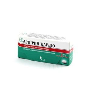 АСПИРИН КАРДИО ТАБ. 100МГ №28