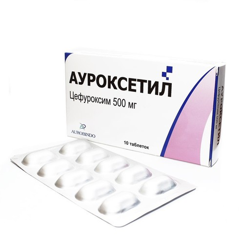 АУРОКСЕТИЛ ТАБ. 500МГ №10