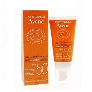 АВЕН Крем солнцезащитный тональный д/чувствительной кожи SPF50+ 50мл